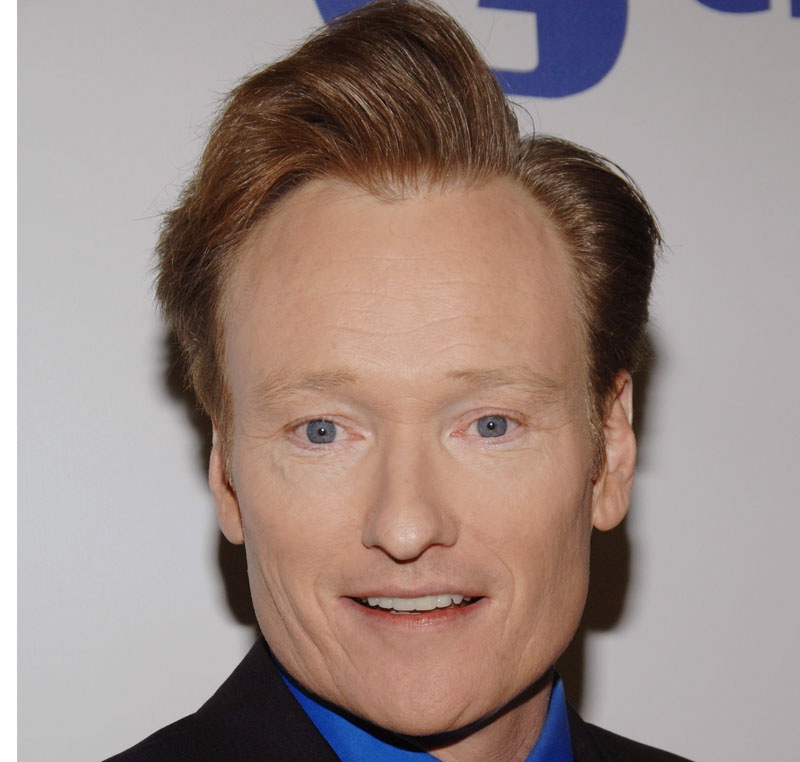 "Conan O'Brien: ""My plan is working perfectly."""