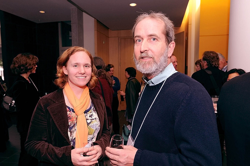 From left: Annie Sutton, Jim Macdonald.