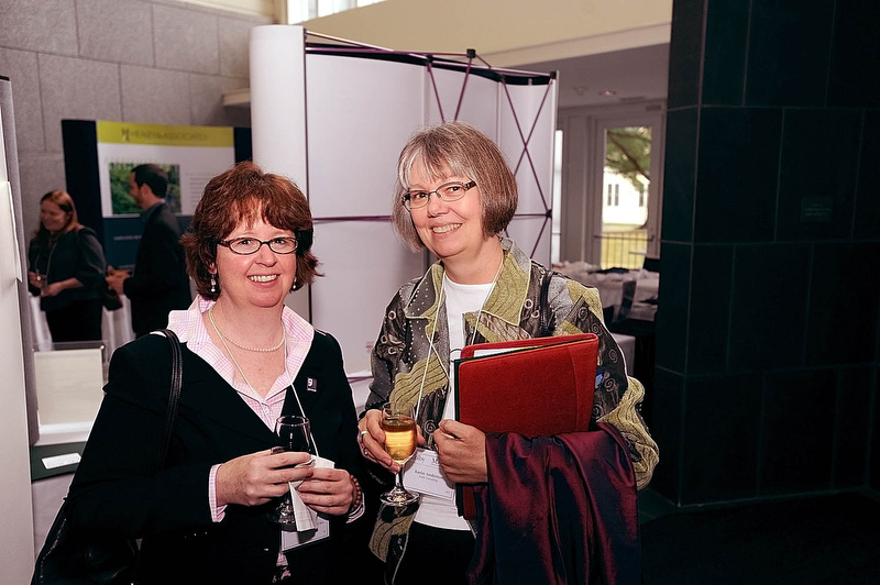 From left: Jane Driscoll, Karin Anderson.
