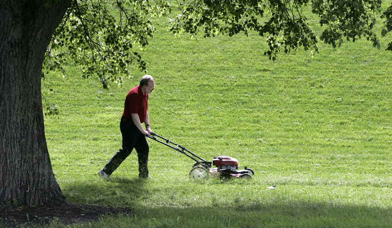 With the warm weather we've had, you may need to mow your lawn in late April. Get the mower tuned up now.