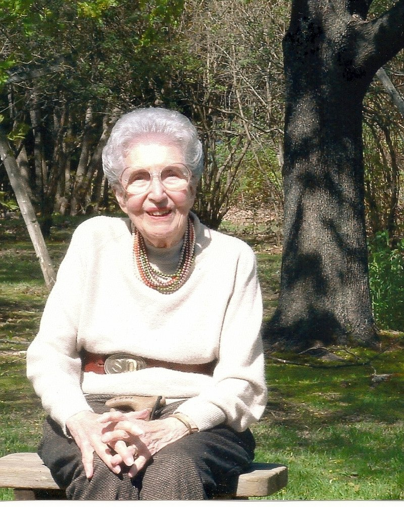 Esther Emmons, who died on Wednesday at age 97, taught home economics in Saco schools to children in grades 6 through 8.