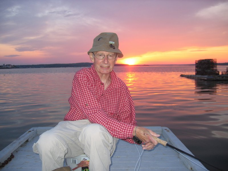 Dr. Robert Sommer's true passion in life was fly fishing, both saltwater and freshwater, and his favorite destination was Baxter State Park.