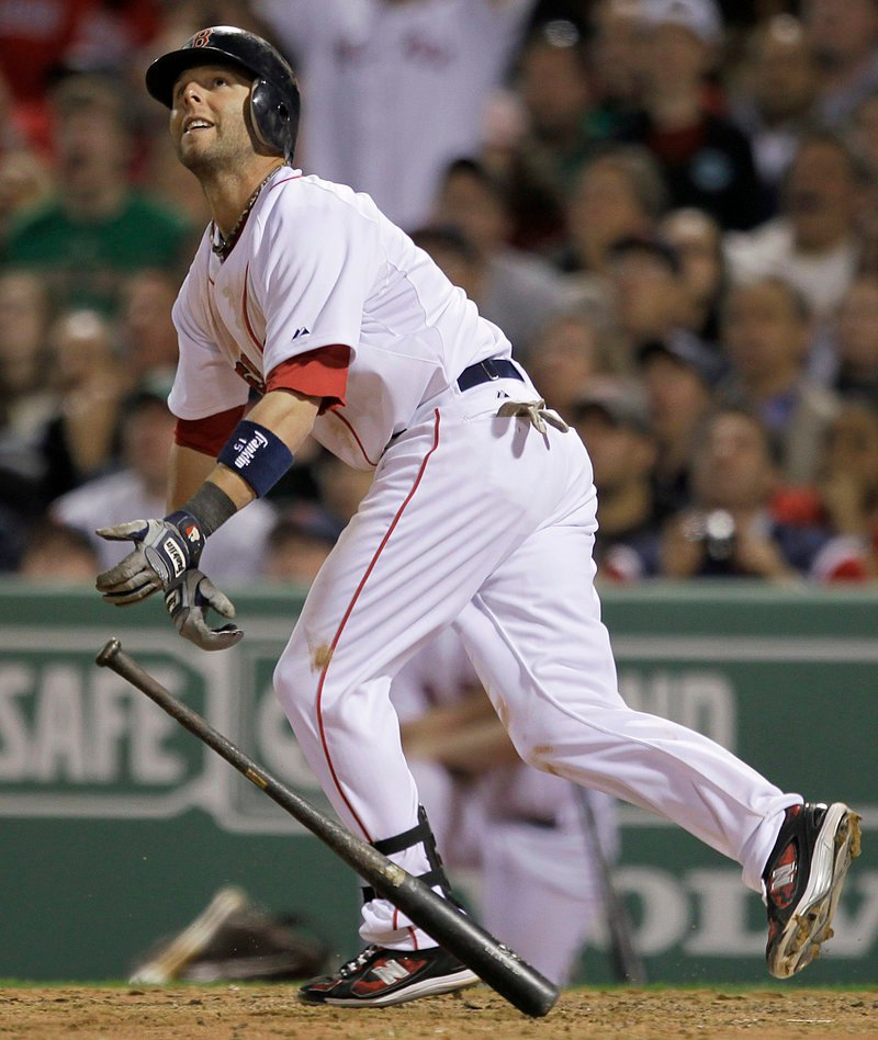 Opening night at Fenway, the Red Sox and Yankees. What could be better? Well, how about Dustin Pedroia's two-run homer? And how about a Boston win? It doesn't get any better than that, does it?