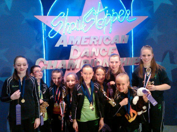 Courtesy photo Membefs of Drouin Dance Company in Westbrook won top awards at the Showsopper Regional Dance Championships in Brockton, Mass.
