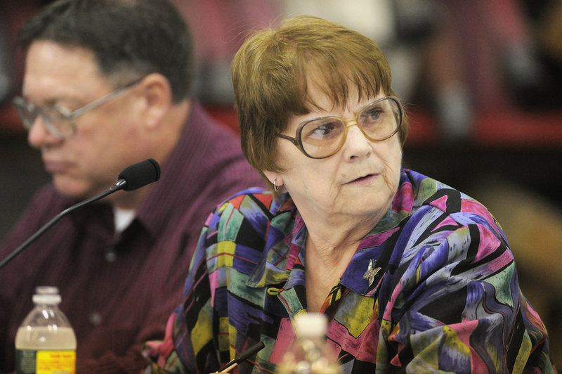 Casco's Board of Selectmen voted to censure board member Barbara York on Tuesday night.
