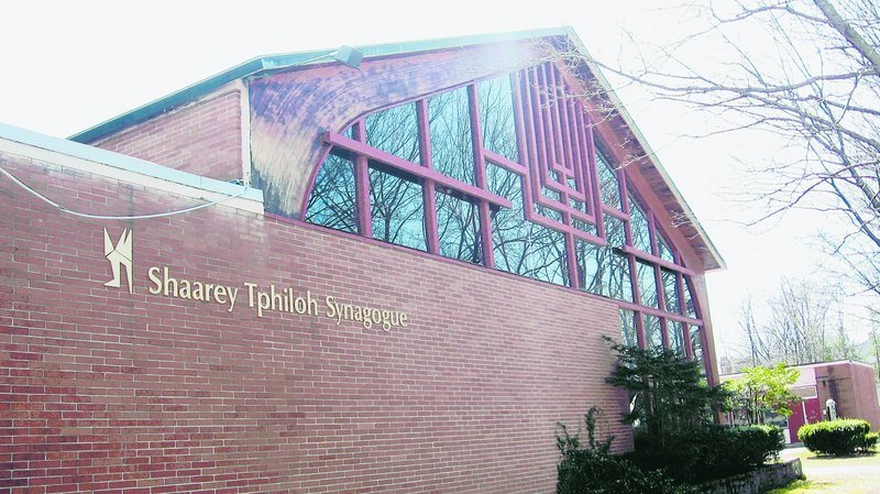 Congregation Shaarey Tphiloh, located on Noyes Street in Portland, focuses on preserving the traditions of Jewish life.
