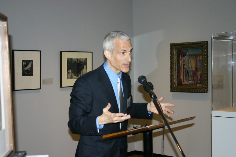 Museum director Kevin Salatino talks about the exhibition.