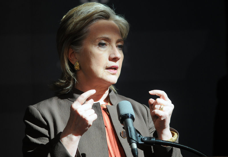 Secretary of State Hillary Rodham Clinton says some summit attendees help the U.S monitor those who could be part of a network willing to sell or give nuclear material to al-Qaida or other terrorist organizations.