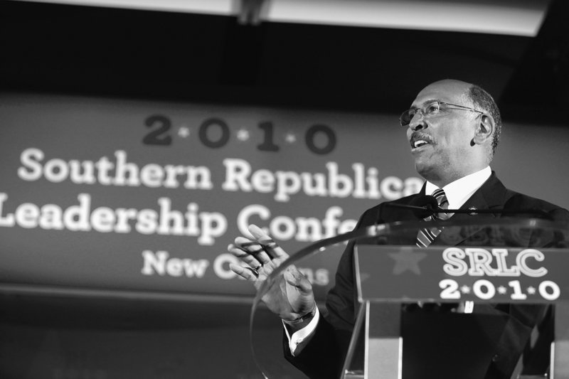 Republican National Committee chairman Michael Steele strikes a contrite tone in New Orleans on Saturday.