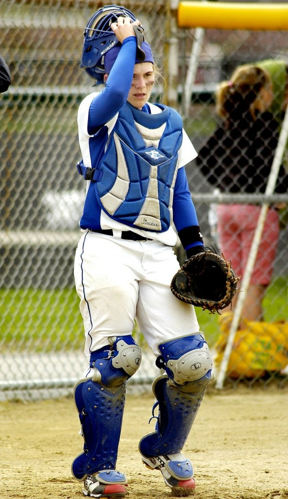 2009 Press Herald file Janelle Bouchard, an all-state catcher as a freshman last season, returns to lead a young Kennebunk team.