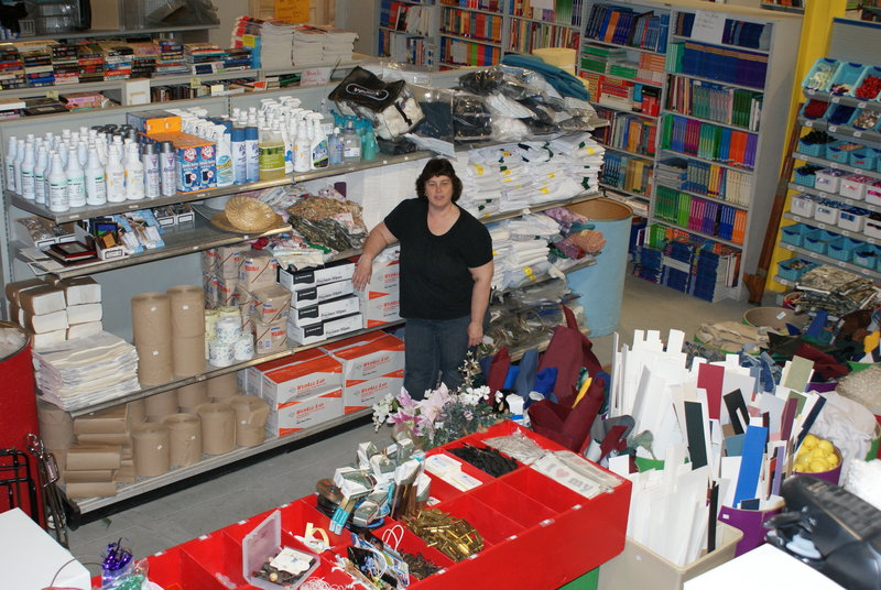 Ruth Libby, founder of Ruth's Reusable Resources, has opened up the 4 Public Store, allowing nonmembers to purchase from the surplus goods. It is located at the same site as the Ruth's warehouse: 39 Blueberry Road in Portland.