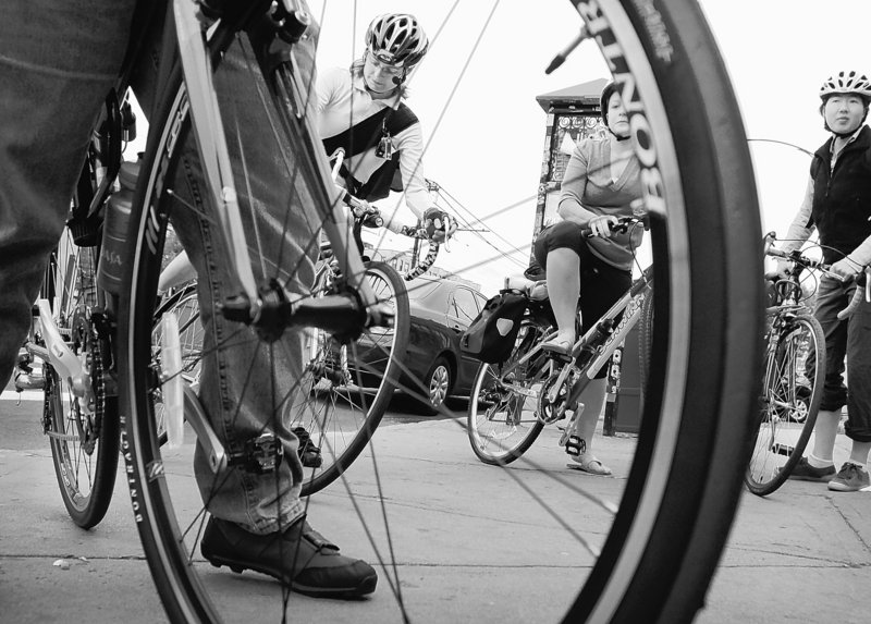 Bicycling enthusiasts cheered Transportation Secretary Ray LaHood's recent comments promising to recognize the utility of bike and walking paths when awarding contracts for federal transportation projects. A manufacturing group balked.