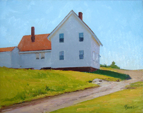"""Yellow Light,"" Kevin Beers' nod to Edward Hopper"