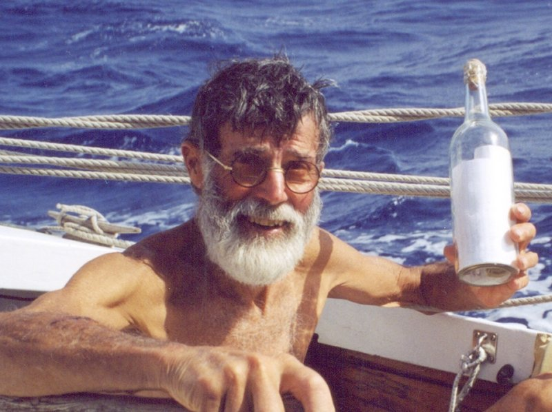 """James Melcher """"always wanted to keep sailing,"""" his son said."""