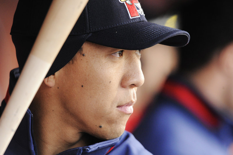 Chih-Hsien Chiang is one of two Taiwanese players on the Sea Dogs this season. Although the Yankees and Dodgers are favorites in his country, he has always liked the Red Sox.