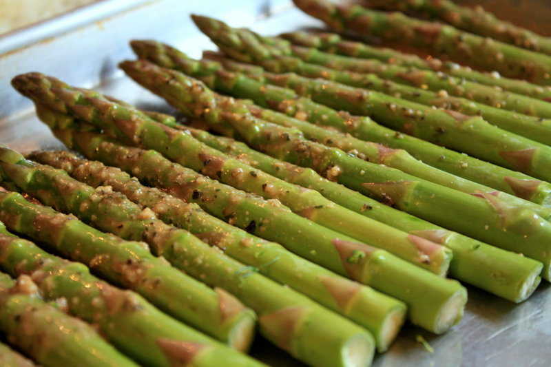 Beginning in May, take your asparagus seedlings outside for a few hours.