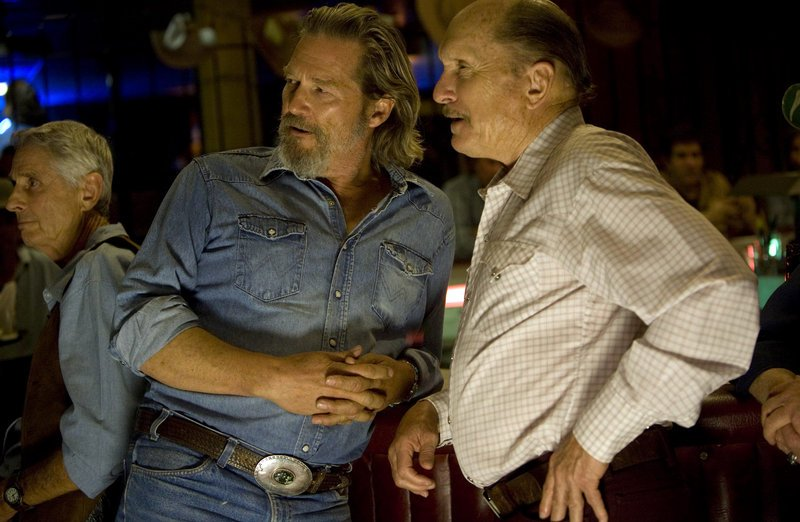 "Jeff Bridges and Robert Duvall star in ""Crazy Heart."""