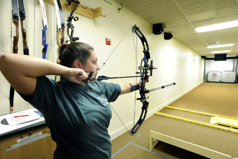 Emily Parker of Yarmouth has numerous talents and has been involved in various activities, but she's drawing national attention for her prowess in archery.