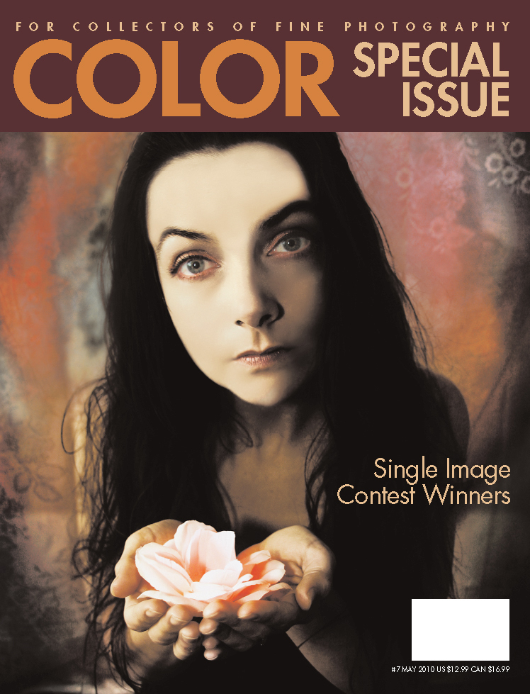 Wellman's photograph on the cover of Color magazine gives her widespread recognition.