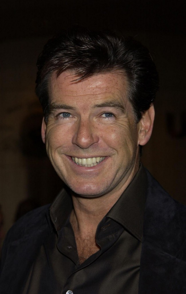 """Pierce Brosnan, 56, is """"a real chameleon,"""" says Shana Feste, the director of his latest film """"The Greatest."""""""