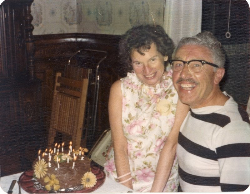 Joseph Gallant, shown with his wife, Avis, had a passion for underwater diving and Dixieland jazz.