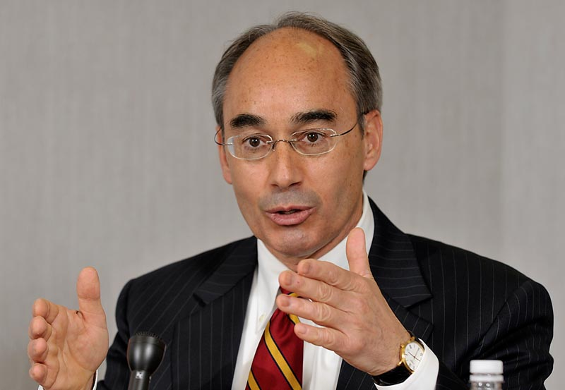 Republican gubernatorial candidate Bruce Poliquin says he learned early what businesses need to succeed.