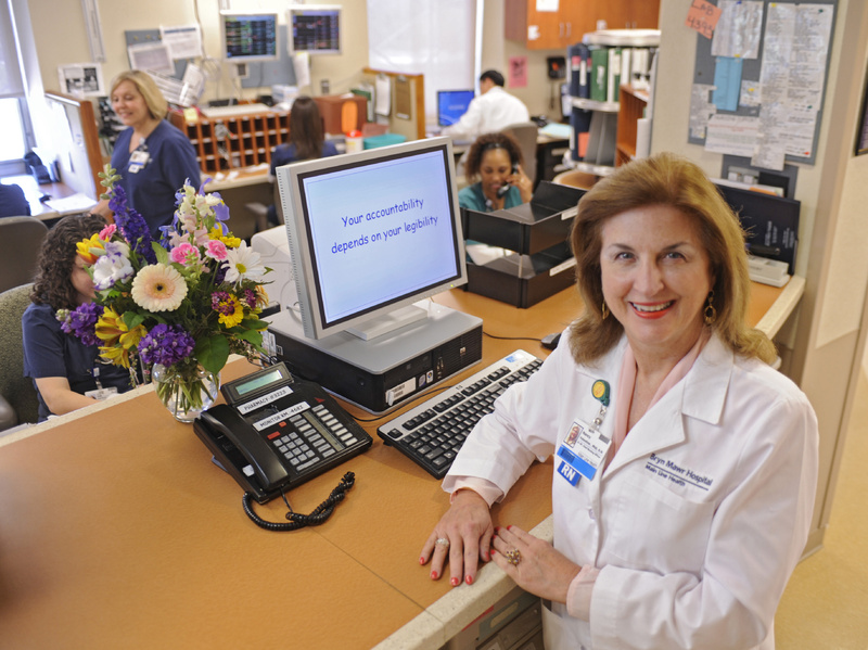 Nancy Valentine, PhD, RN, is the chief nursing officer for Main Line Health Systems hospitals. Fifty-one percent of her nurses now have bachelor's degrees, and the system is subsidizing tuition for about 300 more who are working on bachelor's degrees.