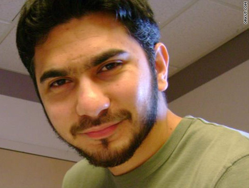 In this photo from the social networking site Orkut.com, a man who was identified by neighbors in Connecticut as Faisal Shahzad, is shown. Shahzad, was taken into custody late Monday by FBI agents and New York Police Department detectives at Kennedy Airport.