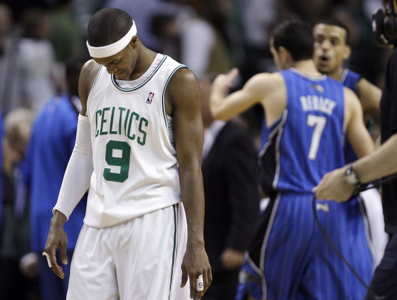 Rajon Rondo and the Celtics had a chance to put the series away Monday night. Didn't happen, and now Game 5 awaits at Orlando.