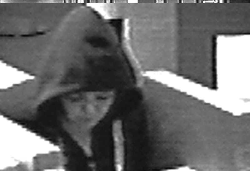 Police are looking for this woman, who robbed the Norway Savings Bank branch on Congress Street in Portland this morning.