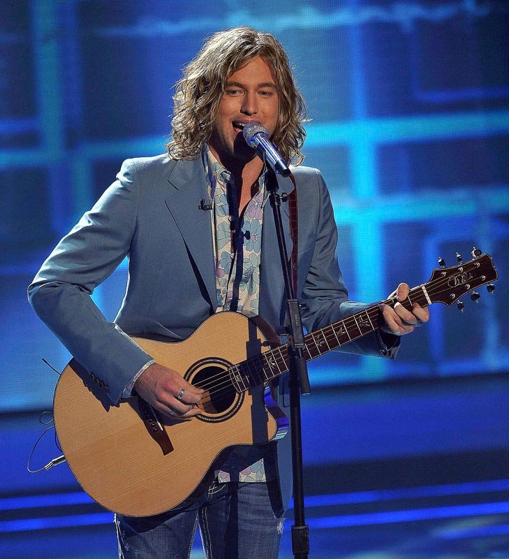"""Contestant Casey James performs on """"American Idol."""" James, who made it to the top three before being eliminated last week, wants to widen his appeal."""