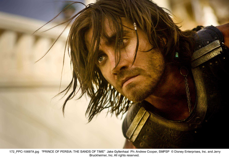 """Jake Gyllenhaal as the title character in """"Prince of Persia,"""" opening Friday. The actor jumped at the chance to take on the physical and career risks of the action film based on a video game. Jake Gyllenhaal;Scene Still"""