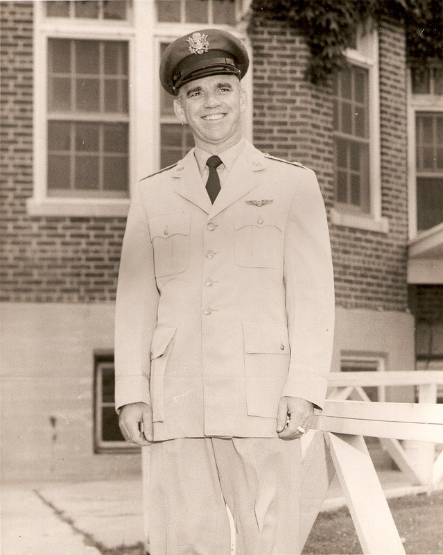 Gilbert Marks was a flight instructor in the Army Air Corps and achieved the rank of colonel in the Air Force.