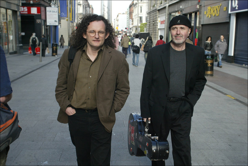 Martin Hayes and Dennis Cahill perform Saturday in Portland.