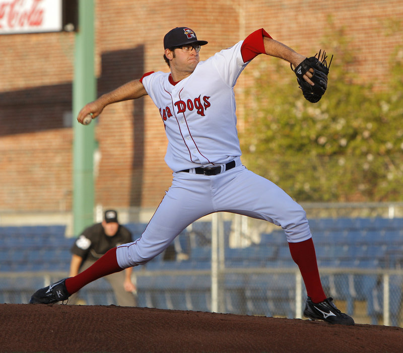 Stephen Fife had a strong start Friday night for the Portland Sea Dogs, allowing one earned run and three hits over six innings. His earned-run average dropped to 2.66.