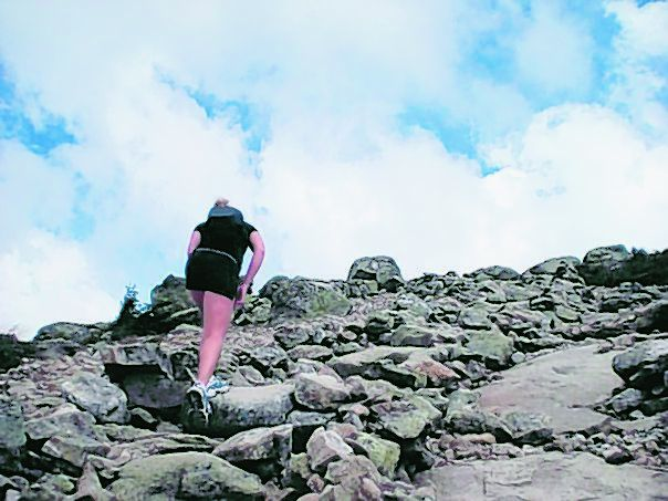 Kaitlyn Oddy, seen on a hiking trip, hopes to spend this summer developing her high-altitude climbing skills in preparation for 3 Peaks 3 Weeks, whose goal is to raise money for and awareness of the education, health and environment of people living in sub-Saharan Africa.