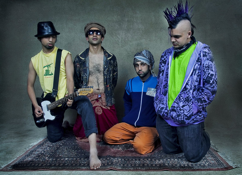 """The Kominas, one of the bands featured in the documentary film """"Taqwacore: The Birth of Punk Islam,"""" will take part in a panel discussion following the screening of the film tonight at Bowdoin College in Brunswick."""