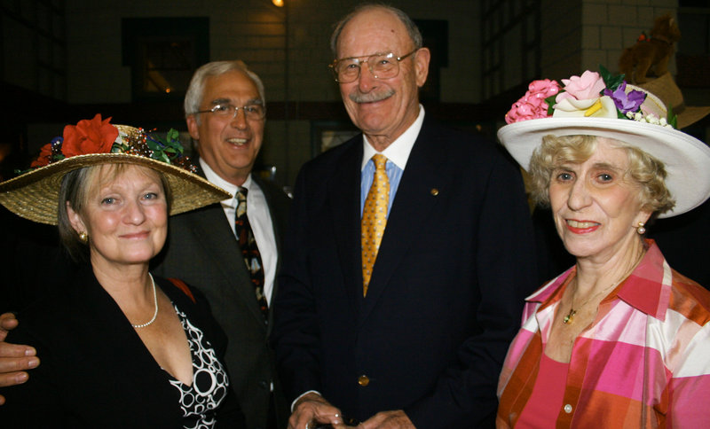 Bibi and Fred Thompson of South Portland and Harry and Jane Sawyer of Portland.