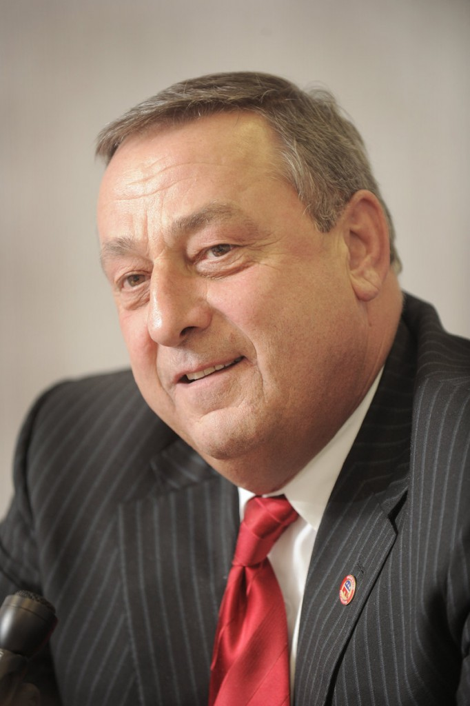 """Paul LePage favors an overhaul of the state's human services, requiring people in need to earn their benefits. """"I am a product of the system,"""" he says. """"It is the most dehumanizing system known to man."""""""