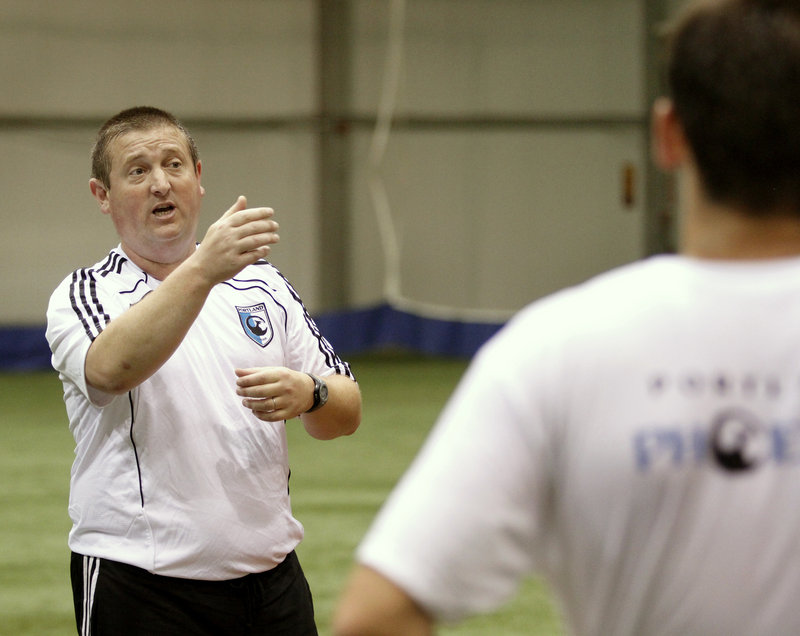 Paul Baber will coach the Portland Phoenix soccer team that will be in the nine-team Northeast Division of the Premier Development League. The season starts Sunday.
