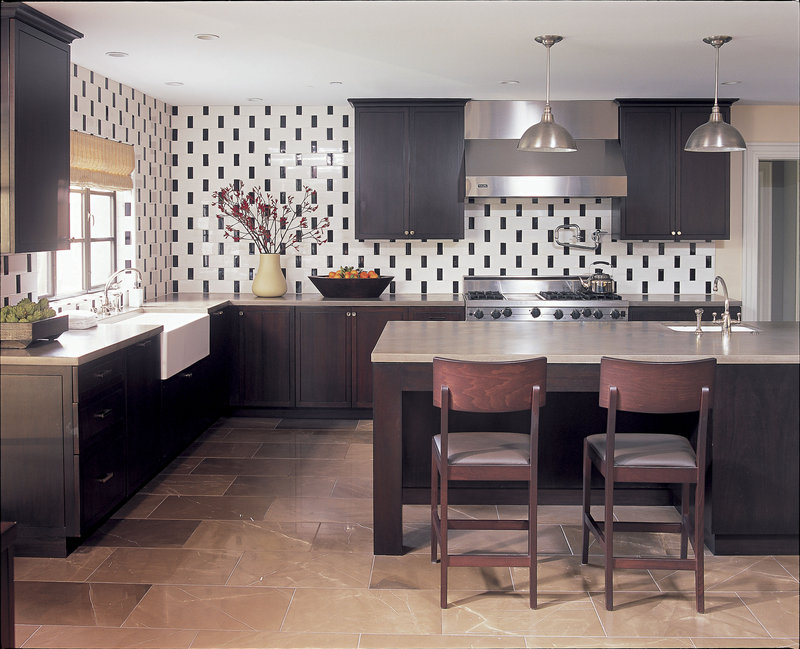 A kitchen by designer Betsy Burnham. More than any other room, Burnham says, kitchens need to be precisely planned.