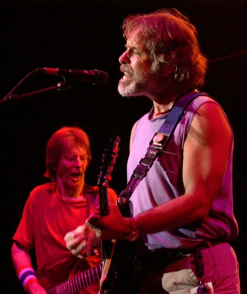 Bob Weir, right, and Phil Lesh, who rose to fame with the Grateful Dead, will perform with the band Furthur on July 4 in Oxford.
