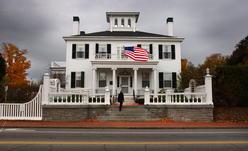 Who gets to occupy the governor's mansion in 2011? Mainers have a variety of ideas.