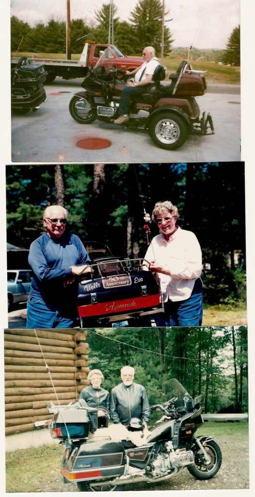 Wells Potter and his wife Eva were avid motorcyclists, going to 46 states and five provinces in Canada. He was a founding member of the Golden Eagles Motorcycle Club.