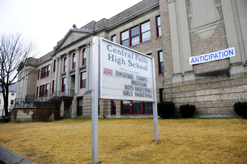 Teachers at Central Falls High School in Central Falls, R.I., were going to be fired at the end of this school year in a move to improve student performance. The school district announced Sunday it had reached an agreement with the union to return all the current staffers to their jobs under a transformation plan for the high school for the coming school year.
