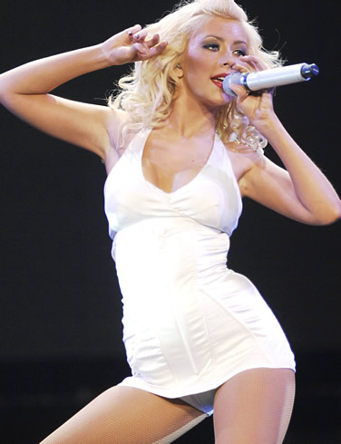 Tickets for Christina Aguilera's July 31 concert in Mansfield, Mass., go on sale Friday.