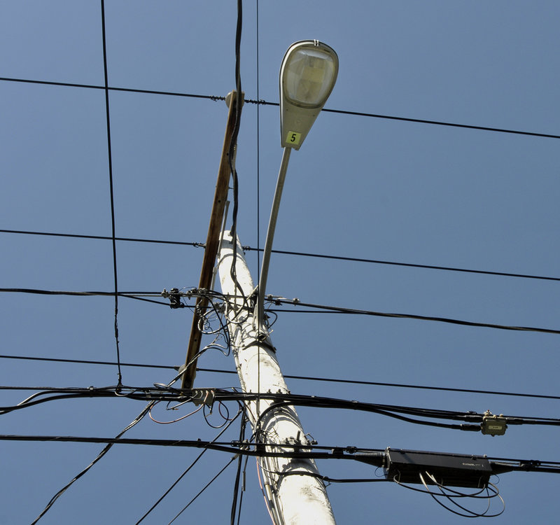 As many as 174 of 614 street lights in Falmouth have been identified for possible elimination.