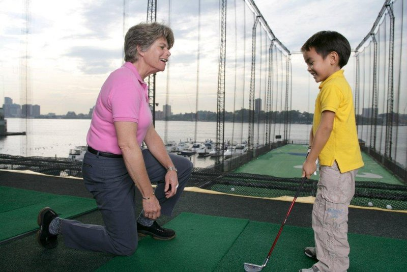 Youngsters can climb walls, learn golf, use trampolines or engage in many other sports at Chelsea Piers. Older people are more likely to be taken in by the history of the site.