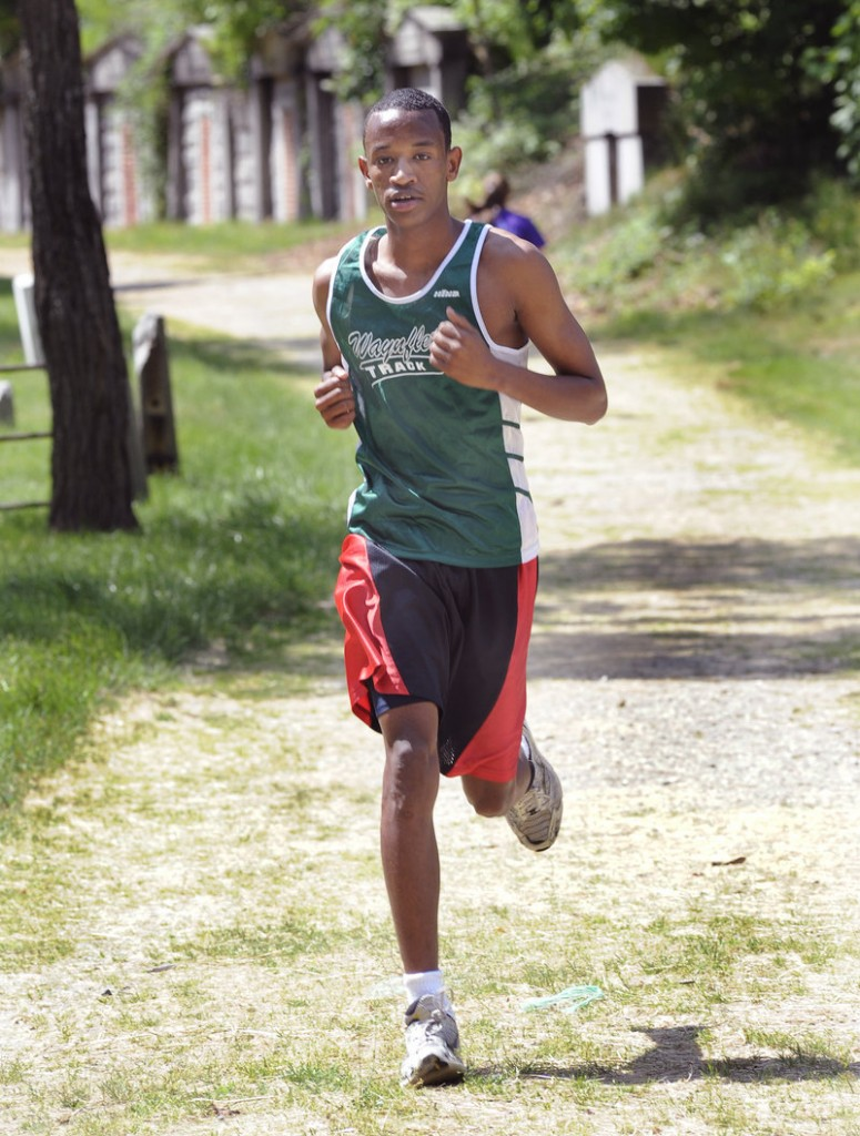Abshir Horor of Waynflete always regarded the sprints as the spotlight events in outdoor track, but now as a distance runner has developed an appreciation for those events.