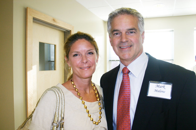 Karen and Mark Malone, who serves on the President's Roundtable, at the University of New England President's Gala.